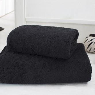 Полотенце для ванной Karna EFES микрокоттон (чёрный)