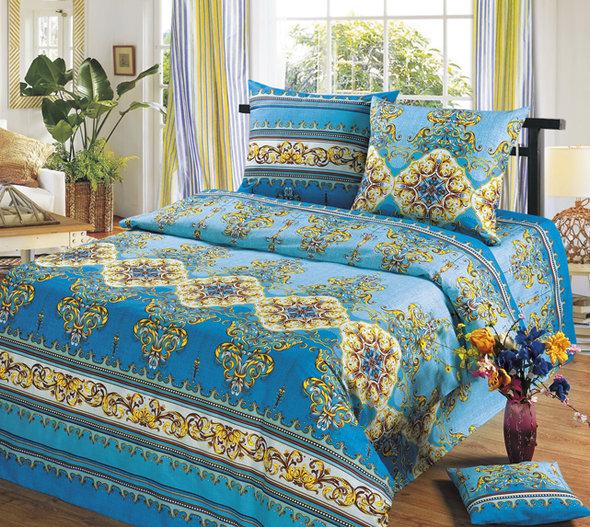 Комплект постельного белья Cleo B-304 евро, фото, фотография