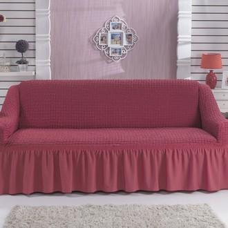 Чехол на диван Bulsan BURUMCUK (грязно-розовый)