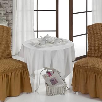 Набор чехлов на стулья (2 шт.) Bulsan BURUMCUK (горчичный)