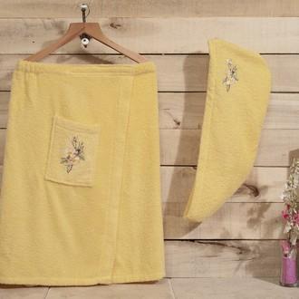 Набор для сауны Karna NORA жёлтый