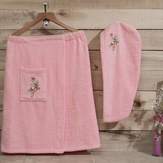 Набор для сауны Karna NORA розовый