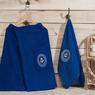 Набор для сауны Karna PALAMAR синий