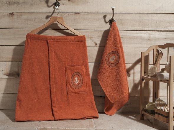 Набор для сауны Karna PALAMAR кирпичный, фото, фотография