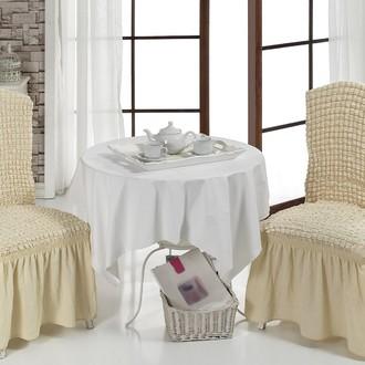 Набор чехлов на стулья (2 шт.) Bulsan BURUMCUK (натурал)