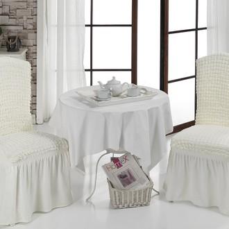 Набор чехлов на стулья (2 шт.) Bulsan BURUMCUK (кремовый)