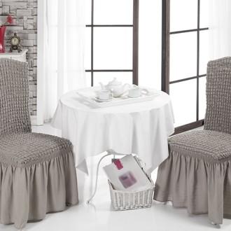 Набор чехлов на стулья (2 шт.) Bulsan BURUMCUK (кофейный)