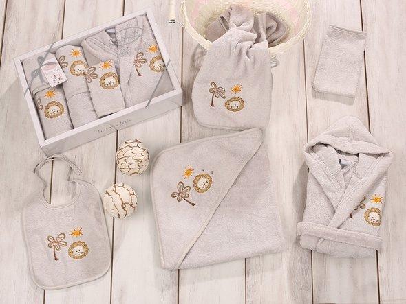 Набор для купания новорожденных Karna BABY CLUP стоне, фото, фотография