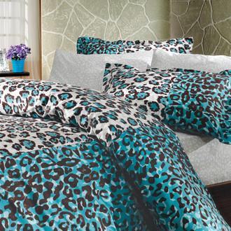 Комплект постельного белья Hobby Home Collection ADRIANA хлопковый поплин (синий)