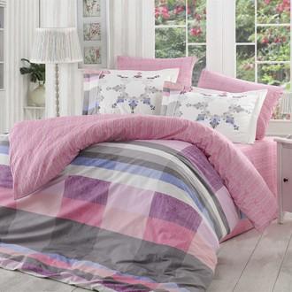 Комплект постельного белья Hobby ALANZA лиловый