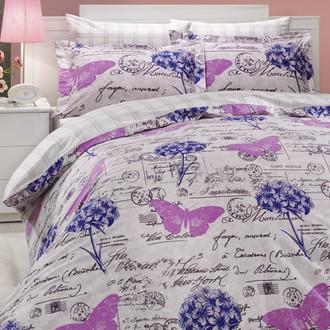 Комплект постельного белья Hobby ANCELICA поплин лиловый