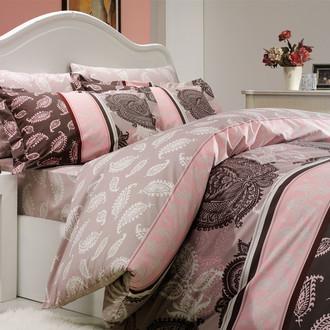 Комплект постельного белья Hobby ARELLA поплин пудра