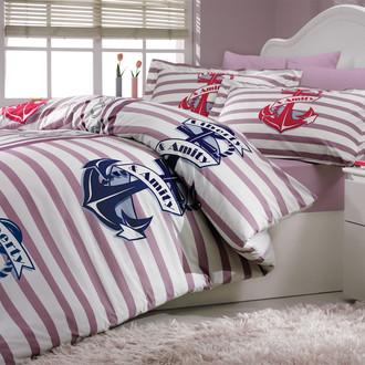 Комплект постельного белья Hobby BERMUDA поплин лиловый