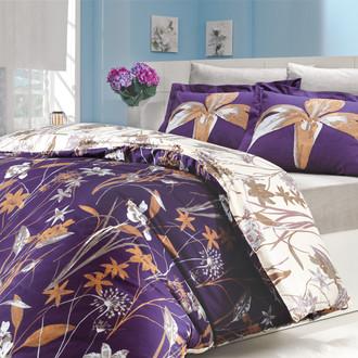 Комплект постельного белья Hobby CLARINDA поплин фиолетовый