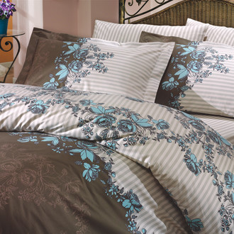 Комплект постельного белья Hobby DELFINA поплин синий
