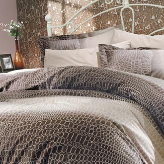 Комплект постельного белья Hobby ESTELA поплин коричневый