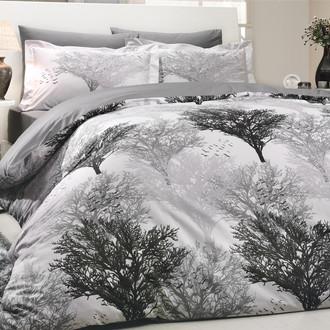 Комплект постельного белья Hobby JUILLET поплин серый