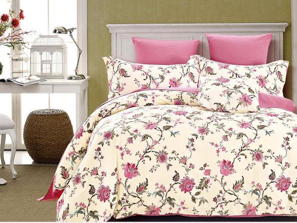 Комплект постельного белья Cleo SP-252 1,5 спальный, фото, фотография