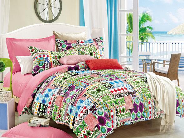 Комплект постельного белья Cleo SP-254 семейный, фото, фотография