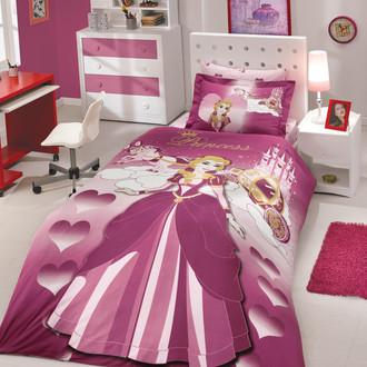 Комплект детского постельного белья Hobby LADY поплин бордовый