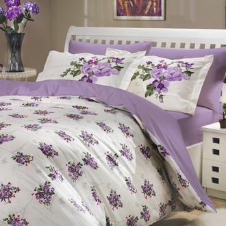 Комплект постельного белья Hobby PARIS SPRING поплин лиловый