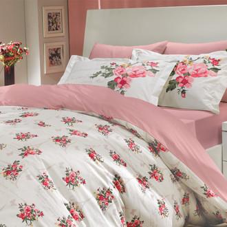 Комплект постельного белья Hobby PARIS SPRING поплин розовый