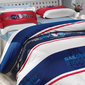 Комплект постельного белья Hobby ROTA поплин синий
