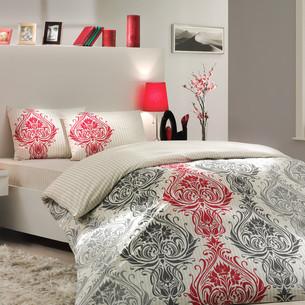 Постельное белье Hobby Home Collection ROYAL хлопковый поплин кремовый 1,5 спальный