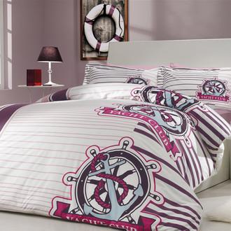 Комплект постельного белья Hobby SARANDA поплин лиловый