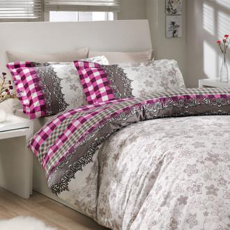 Комплект постельного белья Hobby SERENA поплин фиолетовый