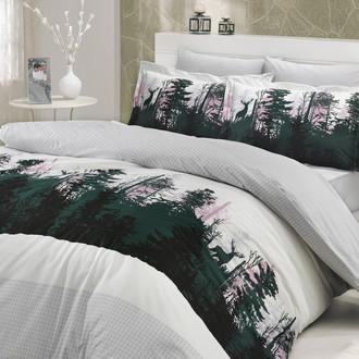 Комплект постельного белья Hobby TIERRA поплин серый