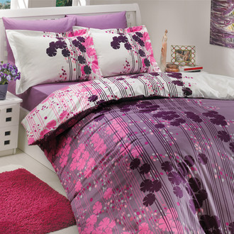Комплект постельного белья Hobby VENTURA поплин лиловый