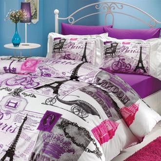 Комплект постельного белья Hobby VICENTA поплин лиловый