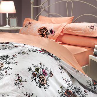 Комплект постельного белья Hobby CARMEN поплин персиковый