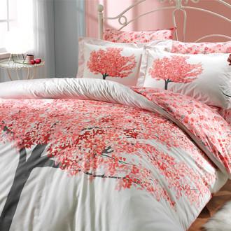 Комплект постельного белья Hobby FLORENTINA поплин персиковый