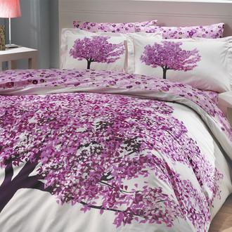 Комплект постельного белья Hobby FLORENTINA поплин фиолетовый