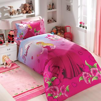 Комплект детского постельного белья Hobby PRENSES поплин фуксия