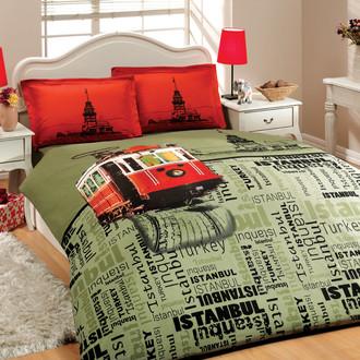 Комплект постельного белья Hobby ISTANBUL ТРАМВАЙ поплин