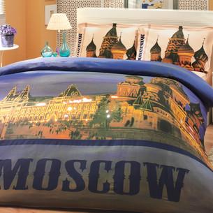 Постельное белье Hobby Home Collection MOSCOW хлопковый поплин 1,5 спальный