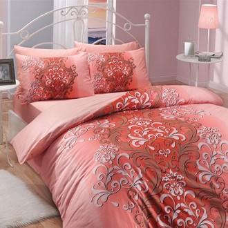 Комплект постельного белья Hobby ALMEDA ранфорс персиковый