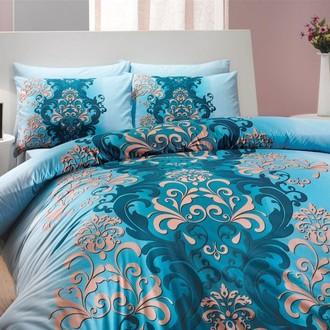 Комплект постельного белья Hobby ALMEDA ранфорс синий