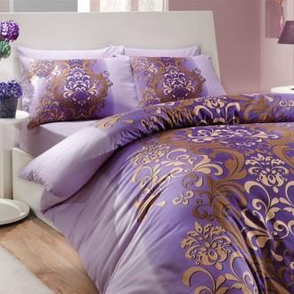 Комплект постельного белья Hobby ALMEDA ранфорс фиолетовый