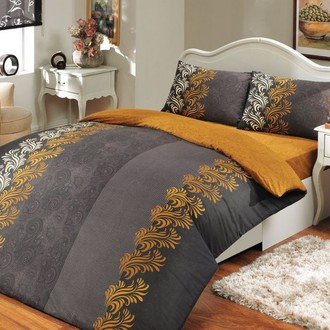 Комплект постельного белья Hobby ELIOT ранфорс серый