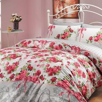 Комплект постельного белья Hobby FELICITA ранфорс красный