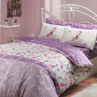Комплект постельного белья Hobby ILYA ранфорс лиловый