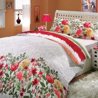 Комплект постельного белья Hobby LILIAN ранфорс красный