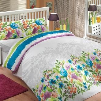 Комплект постельного белья Hobby LILIAN ранфорс синий