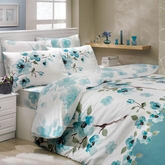 Комплект постельного белья Hobby ROSALINDA ранфорс зелёный