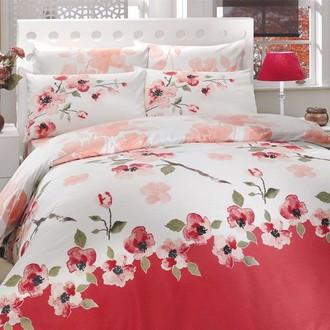 Комплект постельного белья Hobby ROSALINDA ранфорс розовый