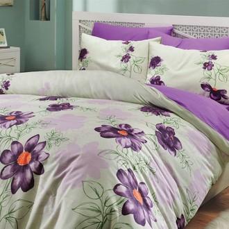 Комплект постельного белья Hobby SOFIA ранфорс зелёный